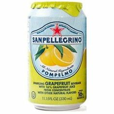 San Pellegrino Grapefruit Sparkling Fruit Beverage  and the Limonata is fantastic too.  MMMMMM