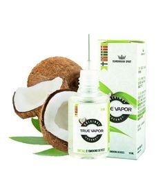 E-juice - Kokos tillverkad av True Vapor som är den billigaste e juicen på nätet. http://www.minecigg.se