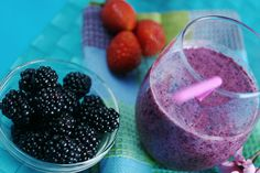 Blackberry Power Smoothie   Thyroid Diet Coach