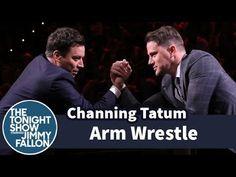 ▶ Jimmy Fallon and Channing Tatum Arm Wrestle - YouTube