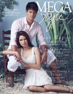 Erich Gonzales and Daniel Matsunaga the newest MEGAstyle April 2016 Cover. Erich Gonzales and Daniel Matsunaga The onscreen and real-lif. Glow Hair, Star Magic, First Anniversary, Get Happy, Teen Actresses, S Man, The Ordinary, Hair Clips, Fashion Models