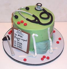 Dr Cake - William needs this when he finds out where he will match for residency!