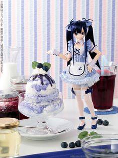 Sweets a la mode  blueberry ice Azone International, 2013.