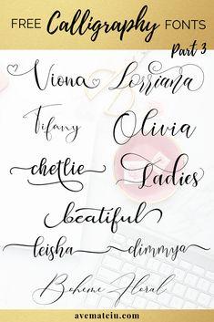 new FREE beautiful calligraphy fonts - part 3 - . - 10 new FREE beautiful calligraphy fonts – part 3 – new FREE beautiful calligraphy fonts - part 3 - . - 10 new FREE beautiful calligraphy fonts – part 3 – - Fancy Fonts, Cool Fonts, Simple Fonts, Elegant Fonts, Modern Fonts, Fancy Script Font, Wedding Script Font, Best Script Fonts, Awesome Fonts