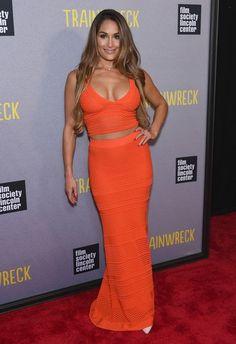 Nikki Bella Photos: 'Trainwreck' New York Premiere - Celebrity Fashion Trends
