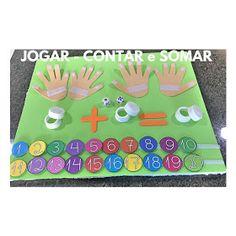 A Arte de Ensinar e Aprender: Jogo pedagógico - Jogar, Contar e Somar