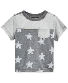 First Impressions Baby Boys' Short-Sleeve Star T-Shirt, Only at Macy's