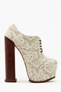 alliance performance booties in lace :D