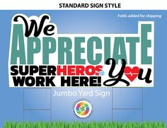 Good Neighbor, Print And Cut, Yard Art, Corporate Events, Contour, Event Planning, Lawn, Appreciation, Super Heros