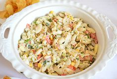 Macaroni Salad, Pasta Salad, Fusilli, Celery, Feta, Potato Salad, Vegan Recipes, Vegan Food, Salads
