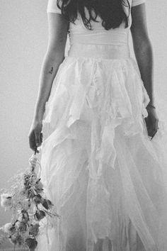ruffled bridal skirt // photo by MariannaJamadi.com
