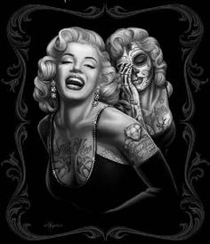 DGA Licensed Marilyn Monroe Smile Now Plush Mink Style Blanket, Queen Size Estilo Marilyn Monroe, Marilyn Monroe Wall Art, Marilyn Monroe Tattoo, Og Abel Art, Juwel Tattoo, Samoan Tattoo, Polynesian Tattoos, Nikko Hurtado, Rose Pictures