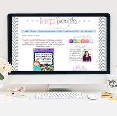 Principal Principles Blog is a blog designed by a principal for a principal and other school leaders. Come follow along and download resources for you and your teachers!