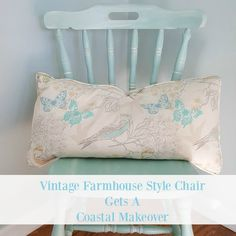 Vintage Farmhouse Style Chair Gets a Dixie Belle Paint Makeover - Housekaboodle