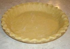 No-Grain Pie Crust