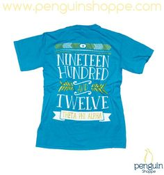 JUST IN! The Penguin Shoppe Teal Established Pocket Tee is one of our new favorite styles