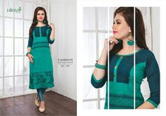 HIRWA-EYE CANDY BY HIRWA DESIGNER FANCY STYLISH RAYON PRINTED WITH EMBROIDERY KURTIS AT WHOLESALE PRICE Rayon Kurtis, Long Kurtis, Textile Market, Indian Outfits, Traditional Outfits, Eye Candy, Cold Shoulder Dress, Fancy, Manish