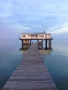 The Fish House at Captiva Island residency off the Gulf Coast of Florida...Use to belong to Ding Darling. He built it for his wife but she liked living at Tween Waters Inn better. So, he turned it into a studio and the boardwalk could be pulled up so no one would disturb him.