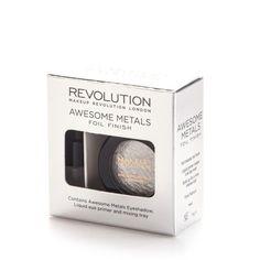 Makeup Revolution Eye Foils cień PURE PLATINUM | OCZY \ palety cieni OCZY \ PALETY CIENI | Minti Shop
