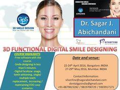 3D smile designing is coming to MUMBAI AND BENGALURU this April - may 2016..!