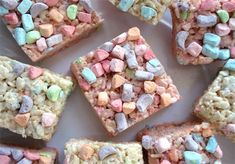 Pastel Rice Krispie Treats for your bag of marshmallows?