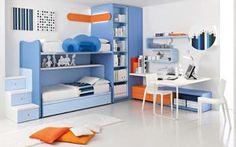 Beauty  Blue Kids Rooms Ideas