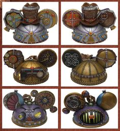 The Mechanical Kingdom Inspires New Merchandise at Disney Parks, Including Steampunk Ear Hat Ornaments - WANT.