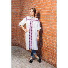 Rochie Garofiță Carnations, Duster Coat, Traditional, Blouse, Jackets, Collection, Dresses, Art, Fashion
