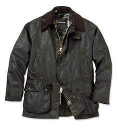 Barbour Bedale. Made in England.