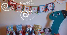 mar de papel diseño personalizado para fiestas souvenirs regalos bautizos casamientos nacimientos bodas fiestas Baby Tv Cake, Butterfly Cakes, Baby Shower, 1st Birthday Parties, Ideas Para, First Birthdays, Party, Random, Numbers