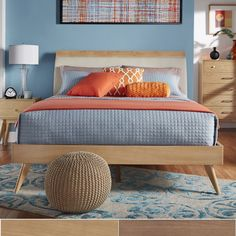 Mid Century Modern Bedroom Things You Need to Create. Browse mid century bedroom design ideas and discover thousands of bedroom photos of colour schemes, furniture. Mid Century Modern Bedroom, Mid Century House, Bedroom Furniture Stores, Bedroom Decor, Bedroom Ideas, Bedroom Photos, Furniture Outlet, Online Furniture, Bedroom Bed