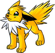 Jolteon from http://suta-raito.com/pokemonimages