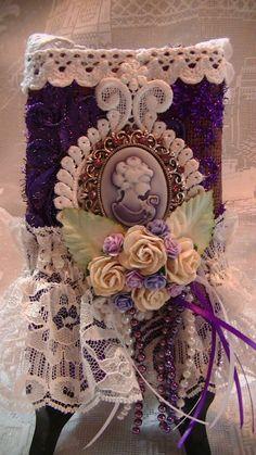 burlap bag i created Something Beautiful, Alters, Burlap, Hessian Fabric, Jute