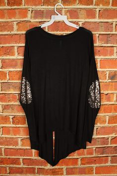My favorite sequin elbow tunic- BLACK · Music City Pretty Boutique · Online Store Powered by Storenvy