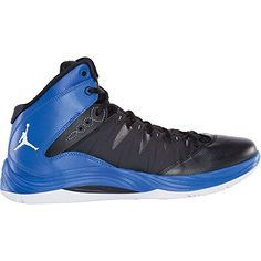 17c4c148115a47 Nike Jordan Prime.Fly Men s Basketball Shoe BLACK WHITE-GAME  ROYAL-UNIVERSITY BLUE (9.5) -- Click on the image for additional details.