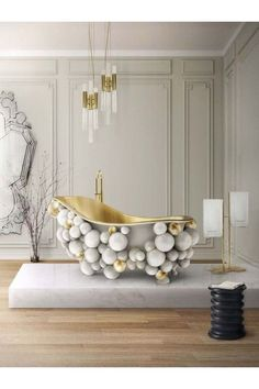 Your luxury bathroom is one of the most, if not the most, important divisions when it comes to modern design due to its purpose for relaxation and peacefulness. #bocadolobo #bocadolobodesign #luxuryfurniture #interiordesign #designideas #modernbathroom #homedecor #interiordesigninspiration #luxuryinteriordesign #interiordesignstyles #inspirationfurniture #bathroomdesign #bathroomdesignideas
