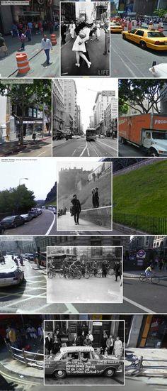 Google Merges Iconic Photos with Streetview | Hunie