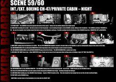 "Storyboards Chris Weston drew for Albert Hughes' live-action adaptation of Katsuhiro Otomo's classic graphic novel,""Akira"". Akira Live Action, Movie Theater Showtimes, Katsuhiro Otomo, Hush Hush, Storyboard, Cinema, Scene, Surface, Classic"