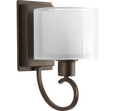 Progress Lighting P2041 Invite 1 Light Bathroom Sconce