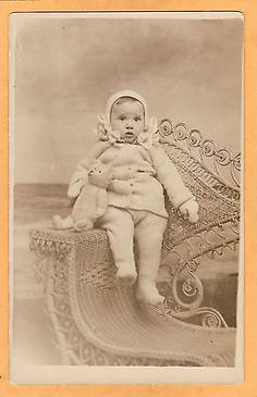 Real-Photo-Postcard-RPPC-Child-and-Teddy-Bear-Lewis-Studio-Atlantic-City-NJ Teddy Bear Hug, Bear Hugs, Teddy Bear Pictures, Vintage Teddy Bears, Atlantic City, Photo Postcards, Vintage Photography, Children, Kids