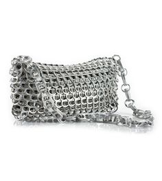 Purse made withe can tabs!..Interesting!