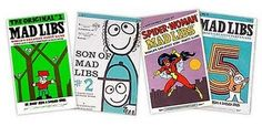 Childhood Memory Keeper: Retro Pop Culture from the 1960s, 1970s and 1980s: Mad Libs
