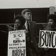 Student boycott at San Fernando Valley State College, ca. 1969