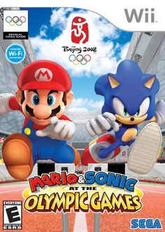 Nintendo - Wii - Mario & Sonic at the Olympic Games - Beijing 2008 - Video Game Kirby Nintendo, Nintendo 2ds, Nintendo Games, Buy Nintendo, Gamecube Games, Super Nintendo, Nintendo Switch, Wii Games, Games Box