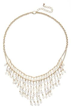 BP. Beaded Statement Necklace available at #Nordstrom