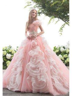 A-line One Shoulder Floor Length Organza Prom Drsess/Evening Dress SKY222