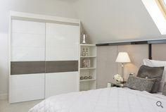 Jericho sliding wardrobe doors with gloss finish