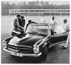 process-vision:  1966 Mercedes-Benz 230 SL