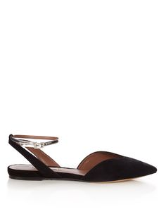 TABITHA SIMMONS Vera suede flats. #tabithasimmons #shoes #flats