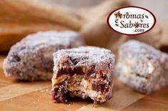 Aromas e Sabores: Palha italiana especial - feita com chocolate em barra e amêndoas